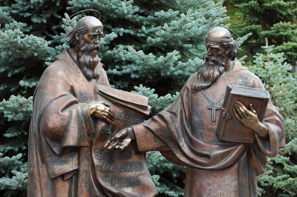 Saints Cyril & Methodius: Founders of the Cyrillic Alphabet