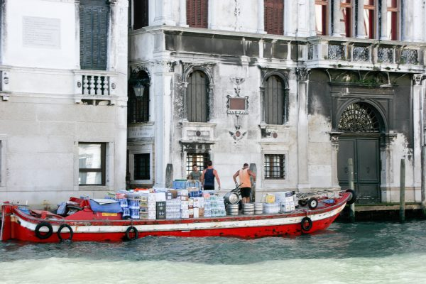 Delivery - Venetian Style