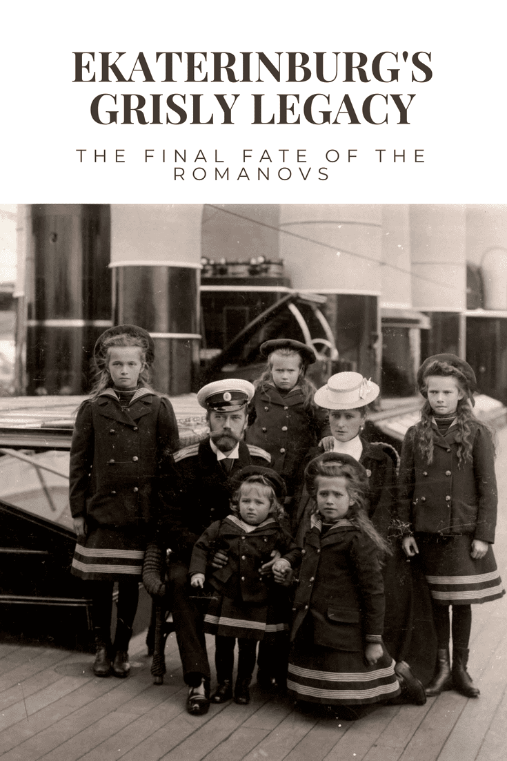 The final fate of the Romanovs