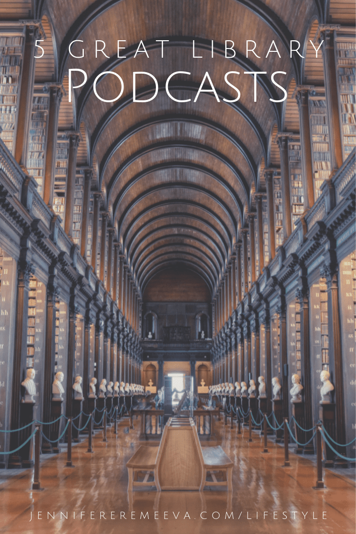 Jennifer Eremeeva Recommends 5 Great Library Podcasts