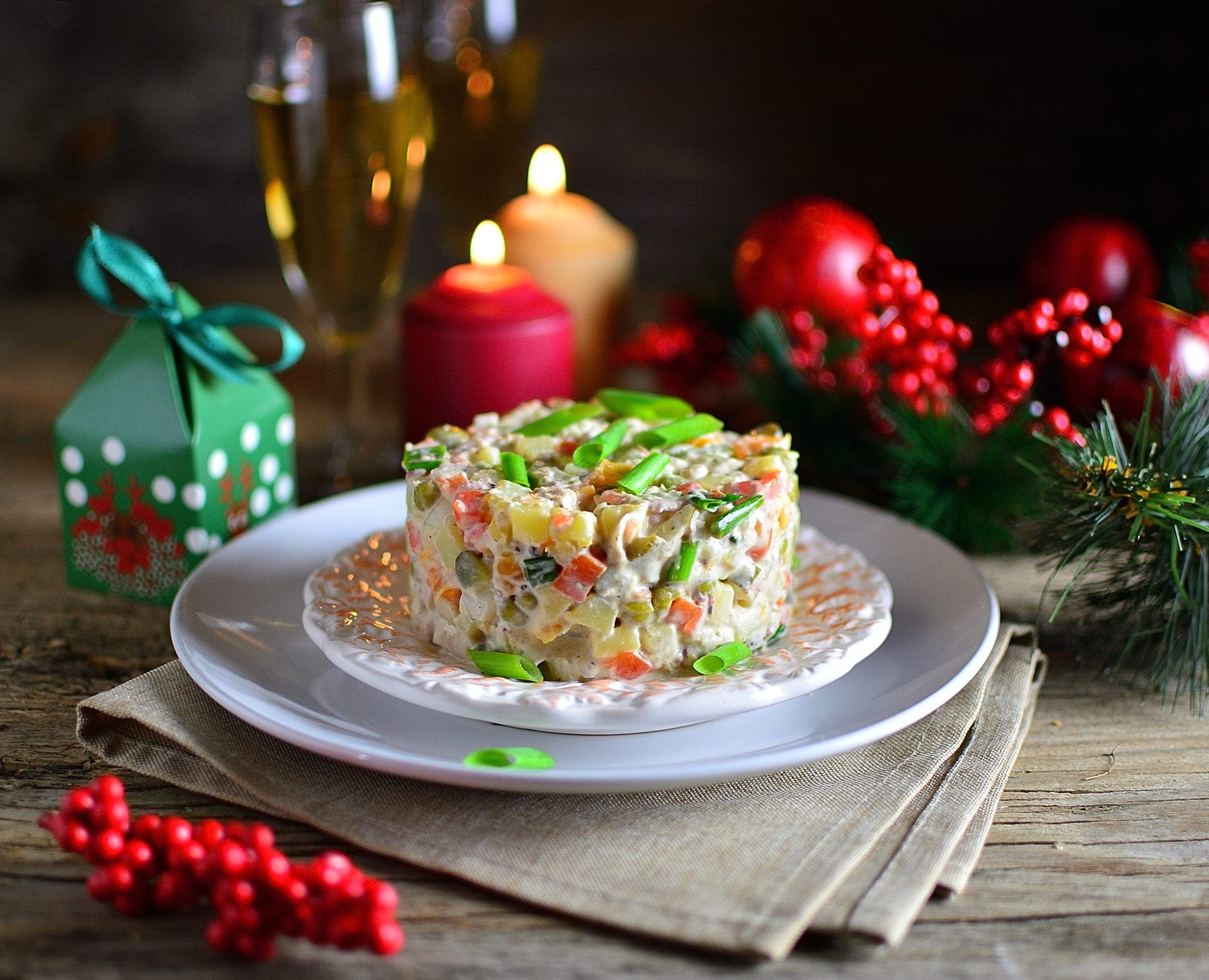 Salad Olivier: The Centerpiece of Russian New Year