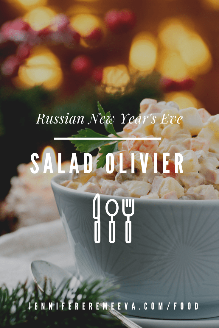 Food blogger Jennifer Eremeeva makes Russia's beloved New Year's Dish: Salad Olivier