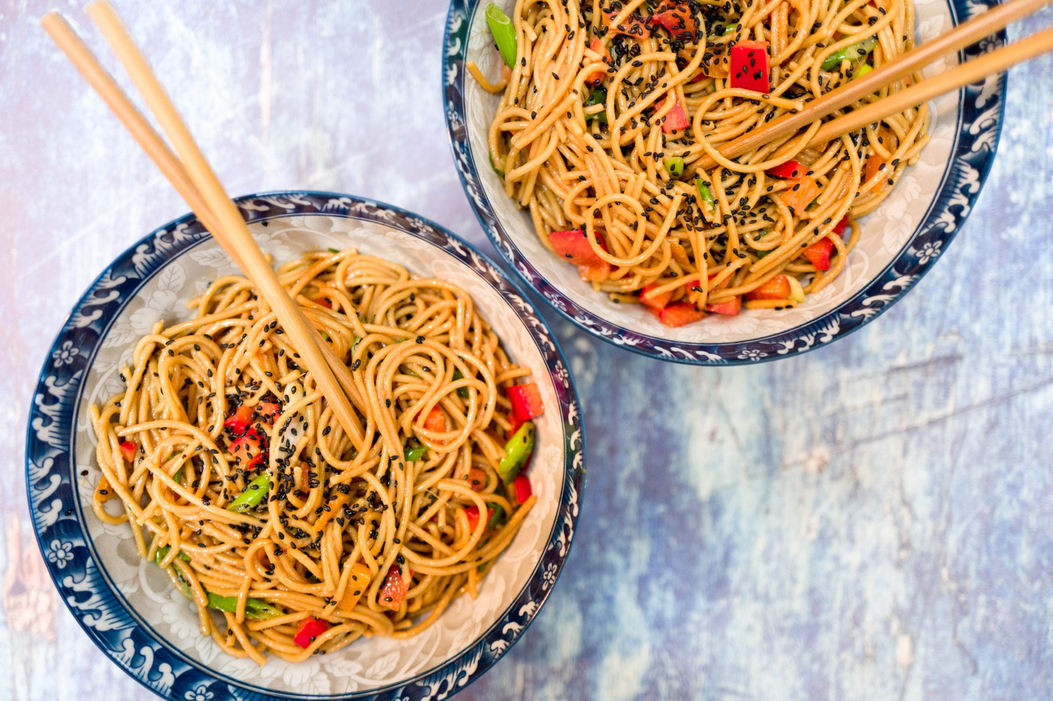 Longevity Noodles for the Lunar New Year